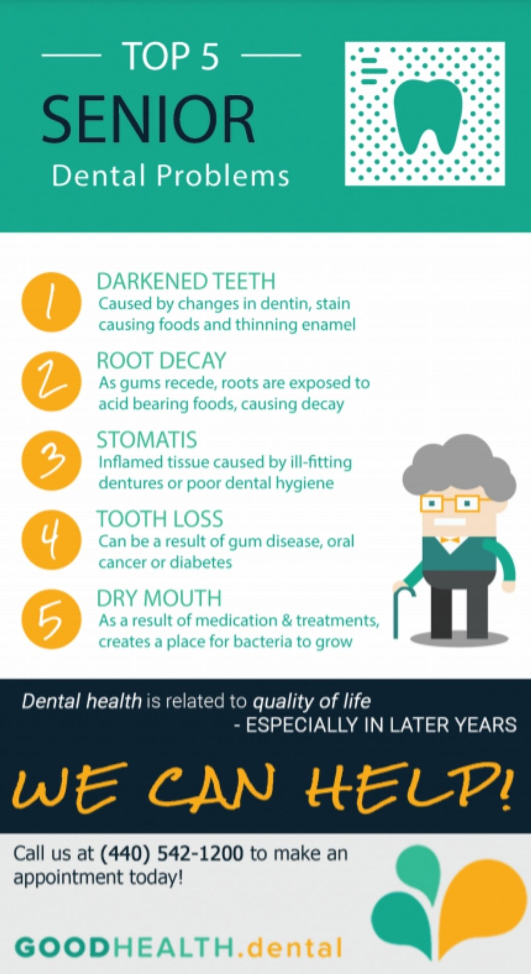 Dentist for Seniors in Cleveland, OH